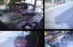 Erkan Petekkaya'ya restoran laneti önce araba girdi sonra yandı