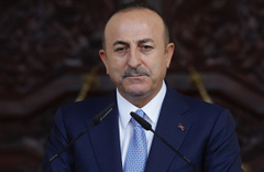 Mevlüt Çavuşoğlu PKK'lı muhabire haddini bildirdi!
