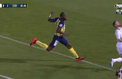 Usain Bolt profesyonel futbol kariyerinde ilk gollerini attı! Efsane hareketini yaptı