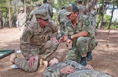 Münbiç için ABD askerlerinin Gaziantep'teki eğitimi sürüyor