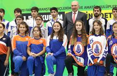 İBB Başkanı Mevlüt Uysal: 'Spor yapmayan kalmasın'