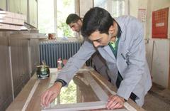 Öğrencilerin üretim yaptığı okul 1 milyon 150 bin lira kazandı