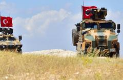 ABD askerleri Münbiç için Türkiye'ye geldi