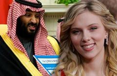Scarlett Johansson, Suudi Veliaht Prensi Selman'ı reddetti!