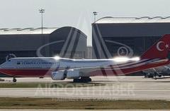 Katar'ın hediye ettiği uçak yeni haliyle ilk kez görüntülendi! İşte VIP uçağın son hali...