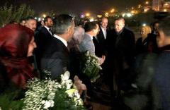 Cumhurbaşkanı Erdoğan Kızılcahamam'da