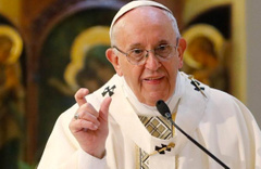 Papa taciz vakalarından şeytanı sorumlu tuttu!