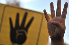 Almanya 'Bozkurt ve Rabia' işaretini yasaklıyor