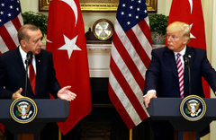 Cumhurbaşkanı Erdoğan ve Trump yarın bir araya geliyor
