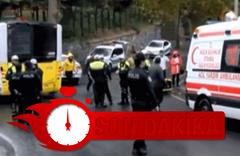 İstanbul'da belediye otobüsü faciası! Yokuş aşağı duvara çarptı...