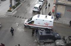 PKK'lı teröristler işçilere füzeyle saldırdı