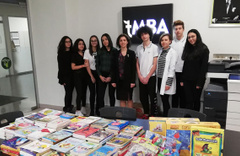 Doğa Koleji'nden 33 bin kitap bağışı