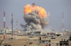 Rakka'da YPG/PKK'ya bombalı saldırı: 50 ölü