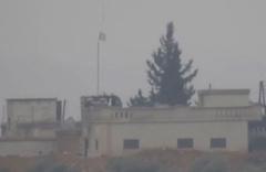 PKK Münbiç'te tankerlerden haraç kesiyor işte o anların görüntüleri...