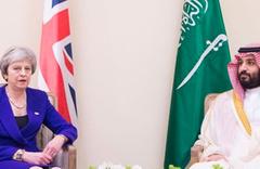 """Theresa May'den Suudi Arabistan'a """"Türk yetkililerle tam iş birliği"""" çağrısı"""