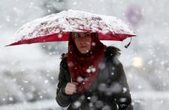 Afyon saatlik hava durumuna bakın kar başladı dikkat!