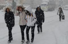 Gümüşhane kar bastırdı güncel saatlik hava durumu tahmini olay!