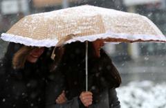 Sivas kar yağışı birden bastırdı haritalı hava durumu raporu