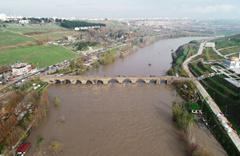 Baraj kapağı patladı Dicle nehri 4 metre yükseldi Hevsel Bahçelerini su bastı