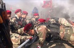 'Bordo bereli ÖSO', PKK'nın tepesine binmeye hazır Telabyad'da toplandılar