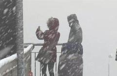 Edirne kar başladı saatlik hava durumu fena!