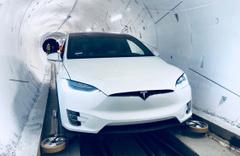 Elon Musk'ın trafiği yok edecek dev tünel projesinin bir kısmı açıldı