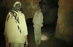 800 metre derinlikteki inlerinde kıstırıldılar işte teröristlerin o inleri