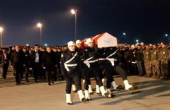 Şehit polisin cenazesi Samsun'a uğurlandı