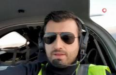 Selçuk Bayraktar hava aracı ile ilk seferini yaptı