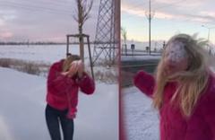Aleyna Tilki: 'Kar görünce delirdim'