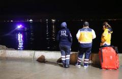 İstanbul'da gece yarısı iddia için denize girdi sonrası facia