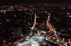 İstanbul Taksim'de yılbaşı çoşkusu!
