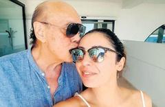77 yaşındaki Asil Nadir baba oluyor Filistinli eşi Nur Nadir yarı yaşında