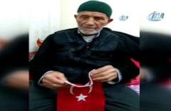 Çanakkale şehidinin 103 yaşındaki oğlu şehit olmak istiyor