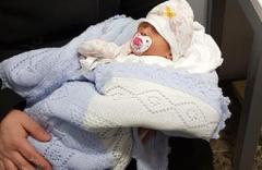 7 günlük bebek tuvalette bulundu