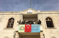TSK duyurdu! Afrin'e Türk bayrağı dikildi Afrin'de son durum