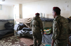 Afrin'de YPG'nin hapishanesi ilk defa görüntülendi