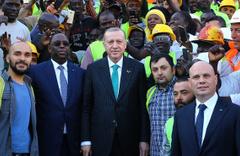 Erdoğan: Afrika'da ikinci ülkeyiz