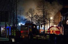 İngiltere'nin Leicester kentindeki patlama...