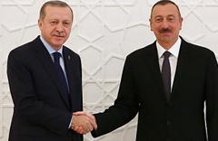 Cumhurbaşkanı Erdoğan'dan Aliyev'e tebrik telefonu