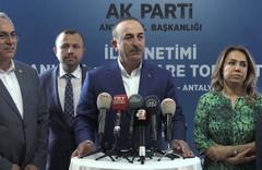 Mevlüt Çavuşoğlu'ndan Suriye operasyonu açıklaması