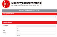 MHP adaylık ücreti ne kadar? İşte başvuru formu ve belgeleri