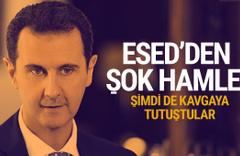 Esed'den PKK'ya darbe! Fırat'ın doğusundan kovdu...
