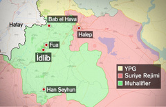 TSK'dan İdlib'e 9. gözlem noktası