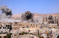 Esed rejimi Doğu Guta'da saldırdı ölü sayısı artıyor