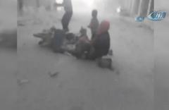 Dünya ayağa kalktı! Esad rejimi Duma'ya kimyasal saldırı düzenledi
