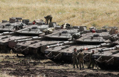 Korkutan haber! İsrail ordusu sınırda böyle görüntülendi...
