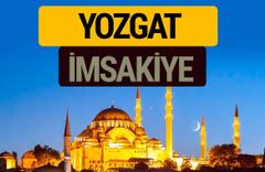 Yozgat İmsakiye 2018 iftar sahur imsak vakti ezan saati