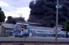 Kilis'te feci yangın! İş yerleri küle döndü