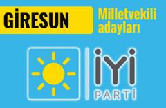 İyi Parti Giresun milletvekili adayları 2018 listesi